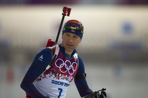Ole Einer Bjoerndalen could secure a record Olympic medal haul today ©Sports Illustrated/Getty Images