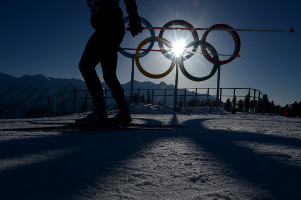 Olympic rings Sochi Getty Images