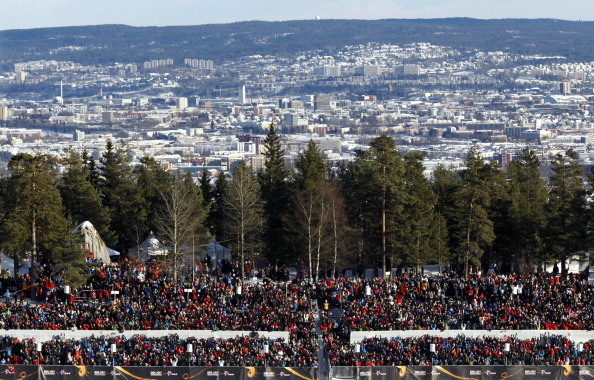 Oslo offers a compact bid which aims to make the most of the popularity of Winter sports in the country ©AFP/Getty Images