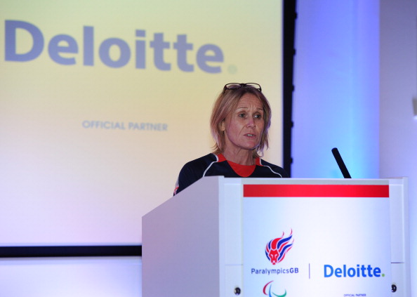 Paralympics GB Chef de Mission Jenny Briscoe hopes the Paralympic Inspiration Programme will inspire the athletes to pursue a future in sport ©Getty Images