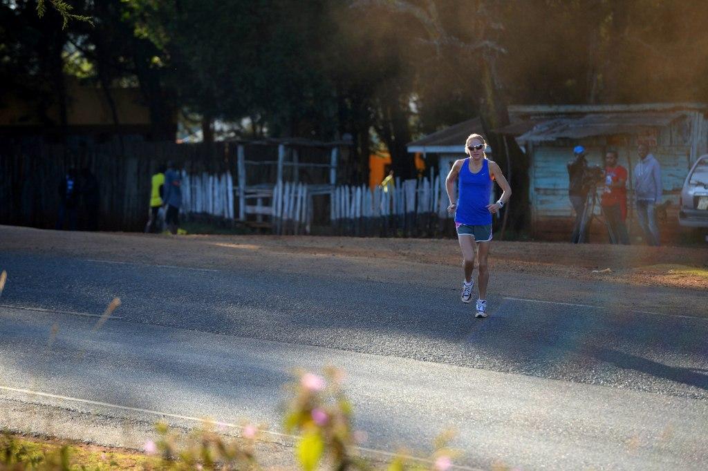 Paula Radcliffe is targeting one final marathon in London or New York ahead of retirement ©Mike King/Virgin London Marathon