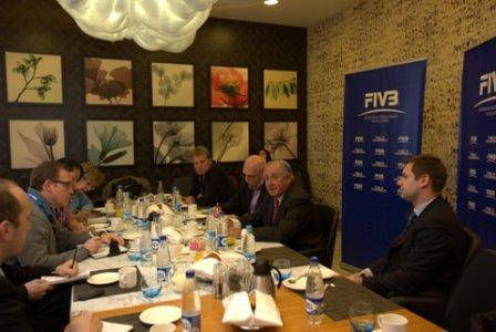 President Ary Graca described this morning how he plans to raise the profile of volleyball within the Olympic Movement ©FIVB