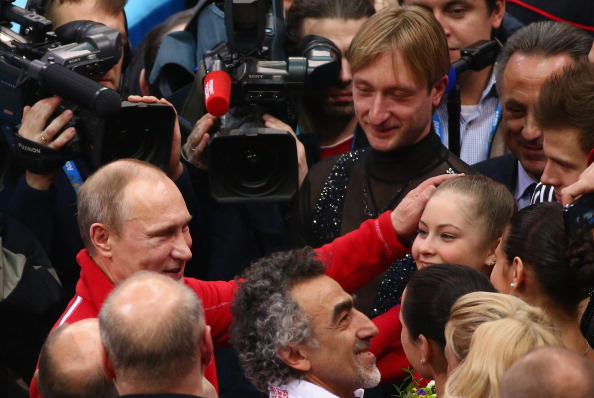 President Vladimir Putin was among those congratulating the Russian team after their victory this evening ©Getty Images