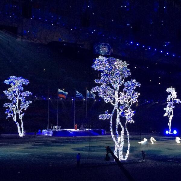 Pyeongchang 2018's segment of the Closing Ceremony ©Twitter