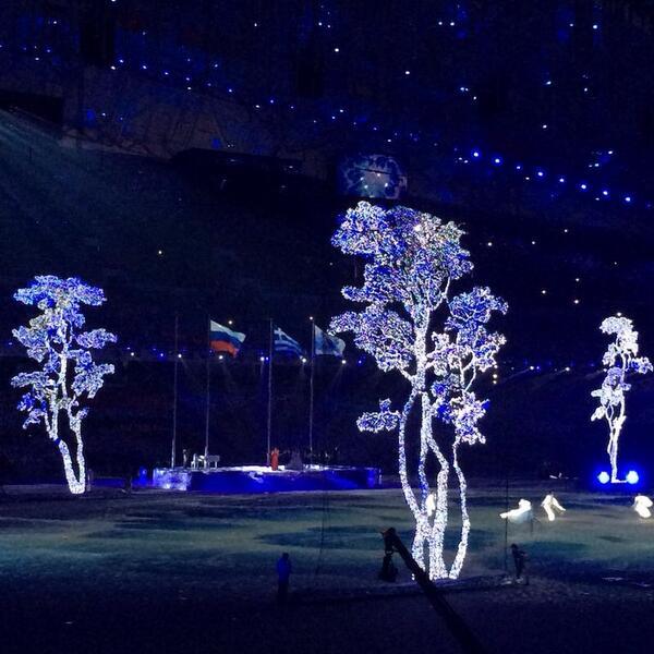 Pyeongchang 2018's segment of the Closing Ceremony ©Twitter