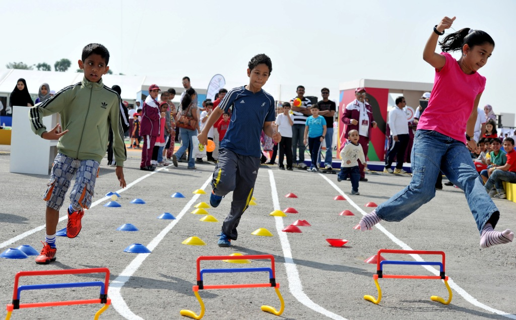 Qatar's National Sport Day looks to encourage a healthy lifestyle to all individuals across the country and give people the opportunity to participate in a whole host of sporting events ©QOC