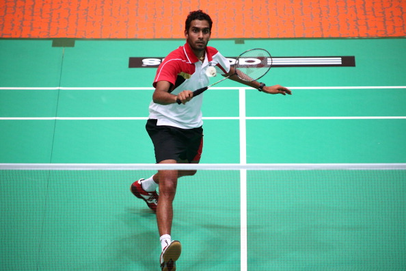 Rajiv Ouseph won his seventh straight singles title at the English National Badminton Championships in Milton Keynes ©Getty Images