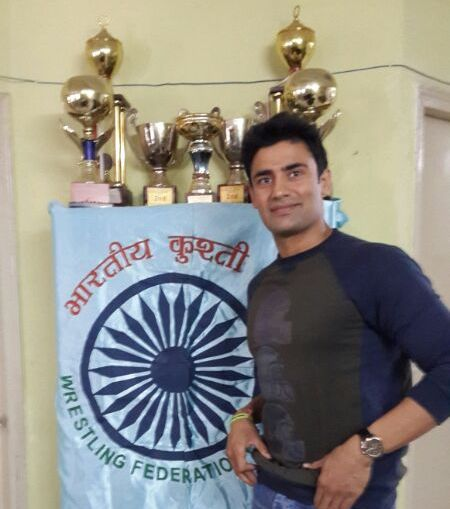 Sangram Singh has been appointed as the Wrestling Federation of India's brand ambassador ©WFI