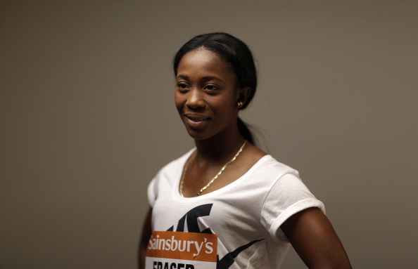 Shelly-Ann Fraser-Pryce says she has decided on her goals for 2014 ©British Athletics/Getty Images