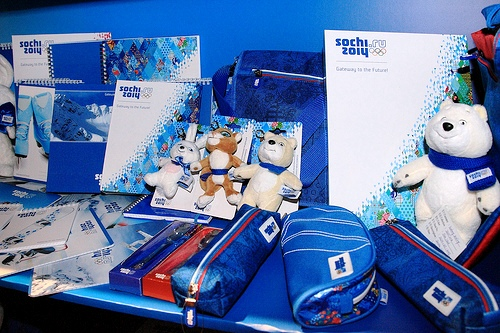 Sochi 2014 says its marketing and retail programmes are proving a big success ©Sochi 2014