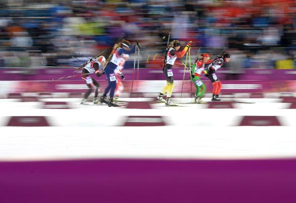 Sochi skiers