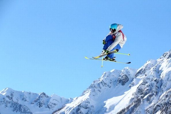 Pavel Korpachev of Russia in the slopestyle qualification earlier ©Getty Images
