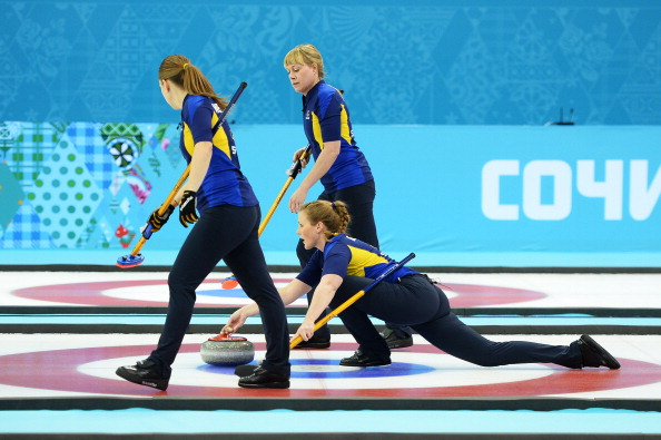 Sweden and Canada face each other for the second women's curling Olympic final in a row ©AFP/Getty Images