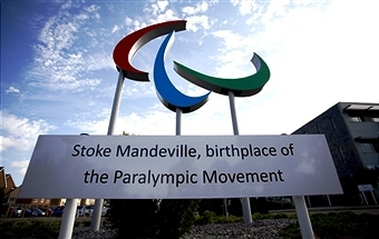 The Sochi 2014 Paralympic Winter Games Torch will pay an historic visit to Stoke Mandeville on Saturday ©Getty Images