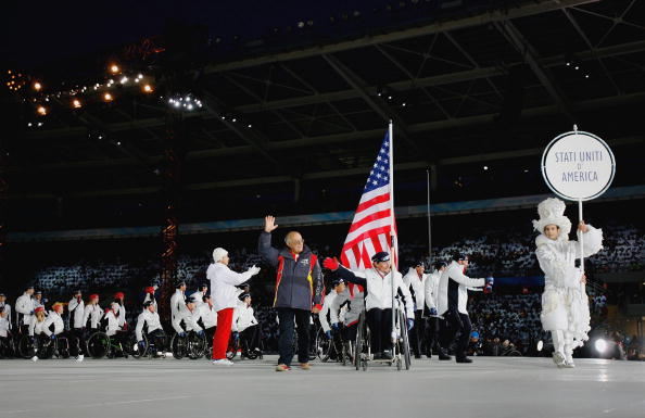 The US have named an 80-member squad for the upcoming Sochi Winter Paralympic Games ©Getty Images