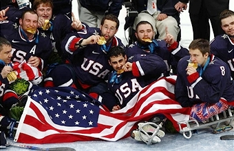 The United States will be hoping for more scenes of celebration as they look to win a second successive Paralympic title ©Bongarts/Getty Images