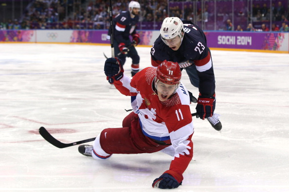 It would be hard to replicate the excitement of Sunday's showdown between US and Russia in 2018 without the presence of NHL players ©Getty Images