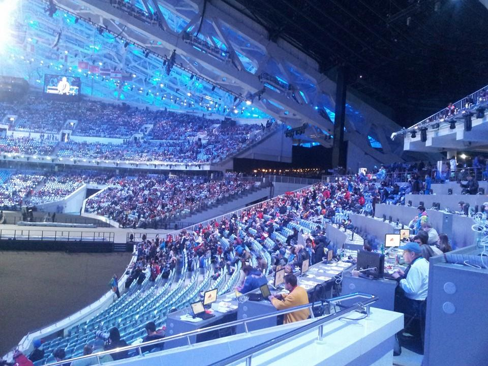 The stadium begins to fill up ahead of the Closing Ceremony ©ITG
