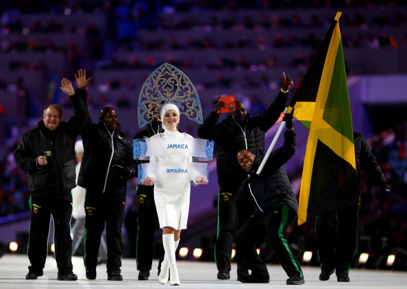 They may have not done too well on the track...but the Jamaican bobsleigh team made lots of headlines once again at their first Winter Olympics in 12 years ©Getty Images