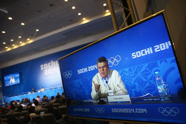 Thomas Bach reiterated his confidence in security plans ahead of the Olympic Games in Sochi getting underway on Friday ©Getty Images