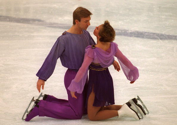 Torvill and Dean will recreate that magic Bolero performance later today ©Getty Images