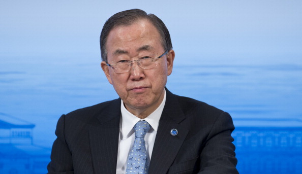 UN secretary-general Ban Ki Moon will deliver the opening address at the IOC Session in Sochi ©Getty Images