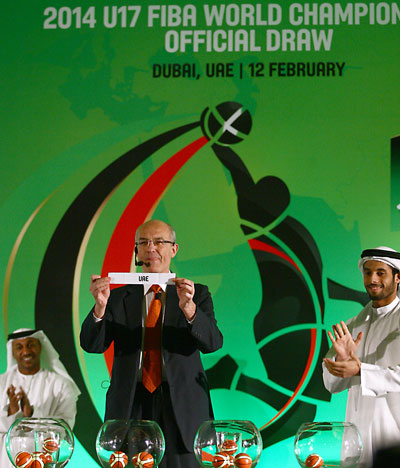 FIBA has revealed the groups for this year's Under 17 World Championships ©AFP/Getty Images