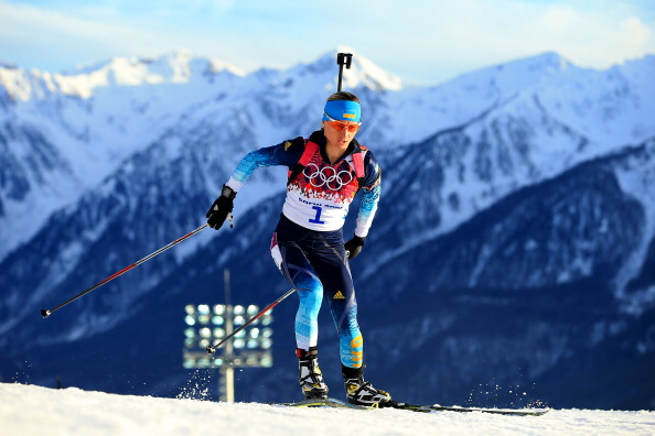 Vita Semerenko is Ukraine's only medal winner so far in Sochi and she will be leading the relay team's attempt for more success today ©Getty Images