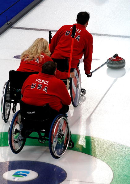 Wheelchair curling along with ice sledge hockey and Alpine and Nordic skiing events will make up the programme for Sochi 2014 ©Getty Images