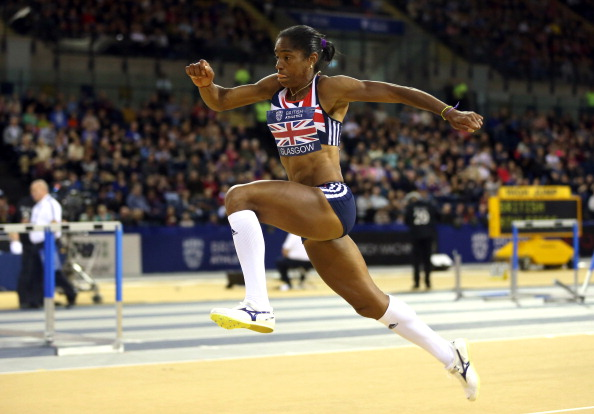 Yamilé Aldama competes in triple jump for Great Britain but has also previously represented Cuba and Sudan ©AFP/Getty Images