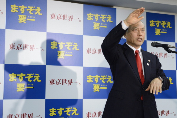 Yoichi Masuzoe has been elected as the new Governor of Tokyo ©Bloomberg/Getty Images