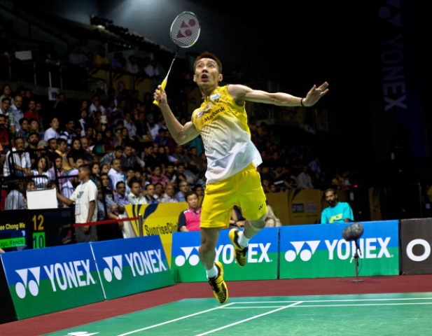 Yonex will supply 15 certified courts for the badminton events at Glasgow 2014 ©AFP/Getty Images