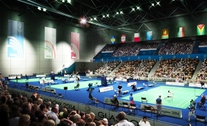 Yonex will provide all equipment and services for the Glasgow 2014 badminton competition at the Emirates Arena ©Glasgow 2014