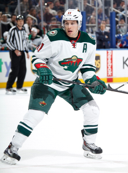 Zach Parise has been alternate captain for Minnesota Wild since his move from the New Jersey Devils in 2012 ©Getty Images