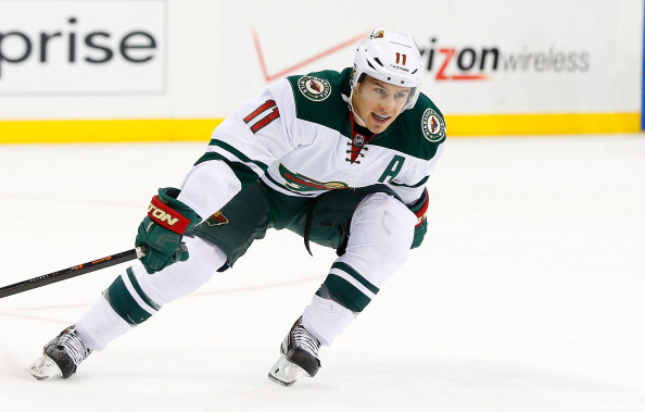 Zach Parise has been named captain of the United Stated ice hockey team for Sochi 2014 ©Getty Images