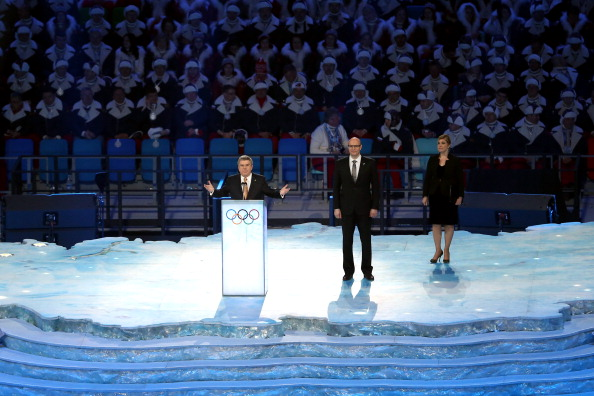 Thomas Bach did not shy away from the political issues which have dogged the build-up to Sochi 2014 ©Getty Images