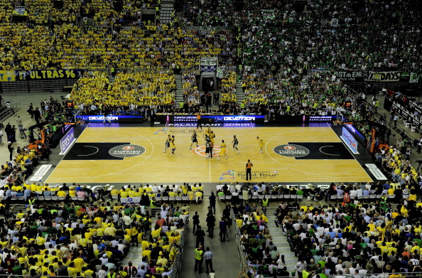 The Palau Sant Jordi Barcelona is one of six venues hosting matches at the FIBA Basketball World Cup ©AFP/Getty Images