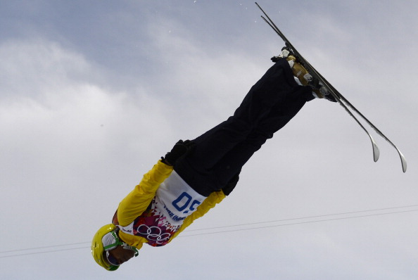 Brazil's Joselane Santos in the women's freestyle skiing aerials ©AFP/Getty Images
