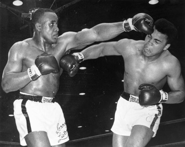 Muhammad Ali held the psychological edge over Sonny Liston ©Getty Images