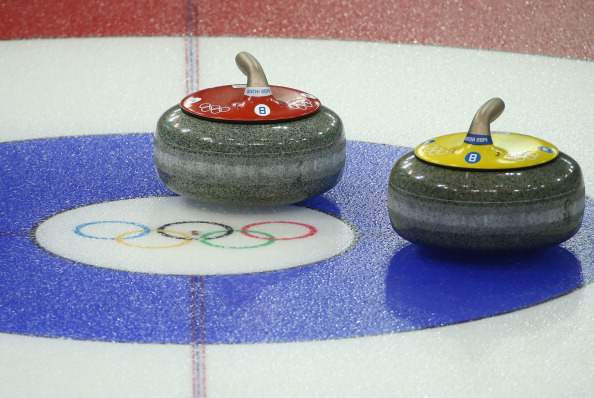 Four men's and four women's matches have been played on day one of the curling competition in Sochi ©Getty Images