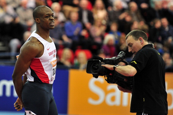 James Dasaolu has pulled out of next month's IAAF World Indoor Championships ©Getty Images