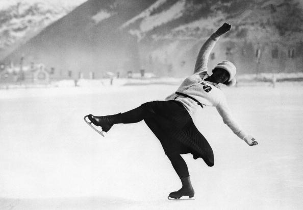 Figure skating made its Winter Olympic debut at the first games in Chamonix 1924 ©Getty Images