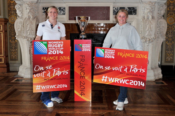 Tickets have gone on sale for the knockout stages of the Women's Rugby World Cup in France ©Getty Images for IRB