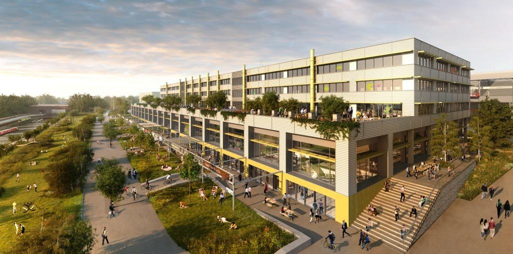 iCITY say their state-of-the-art hub will create 7,500 jobs ©Hawkins/Brown