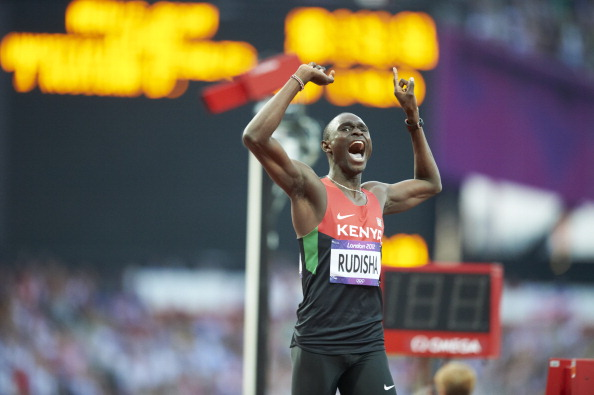 David Rudisha was the outstanding track and field performer at London 2012, breaking the world 800 metres record, but too many of his team-mates disappointed ©Sports Illustrated/Getty Images