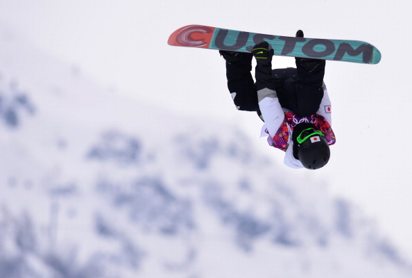 Japan's Ayumu Hirano pulled out plenty of tricks during his halfpipe run ©AFP/Getty Images