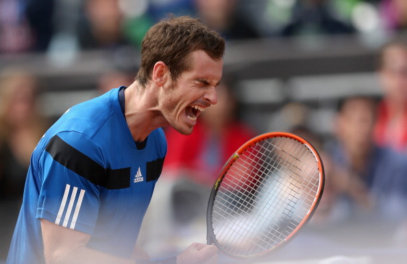 Andy Murray won both his singles matches to give Great Britain a quarter-final berth ©Getty Images