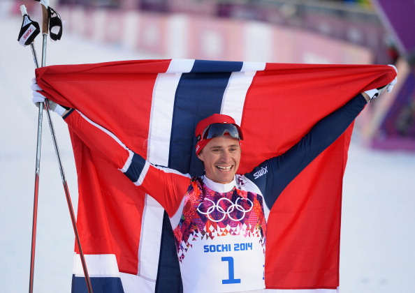Ola Vigen Hattestad made in double delight for Norway in the men's cross country sprint ©Getty Images