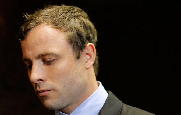 Oscar Pistorius has made a rare statement since the death of his girlfriend ©Getty Images