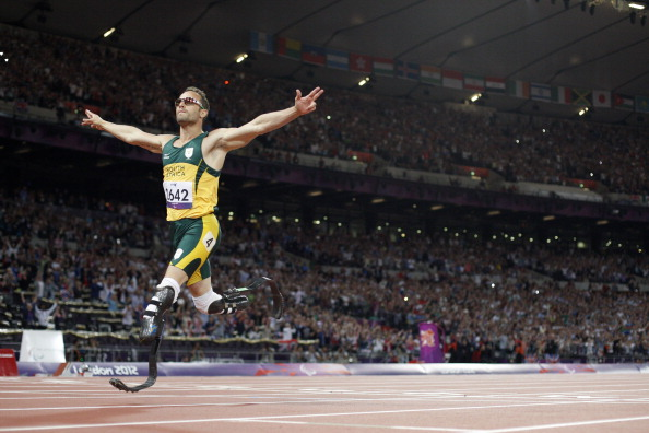 Oscar Pistorius, who is due to go on trial next month accused of the premeditated murder of his girlfriend, is a six-times Paralympic champion ©AFP/Getty Images
